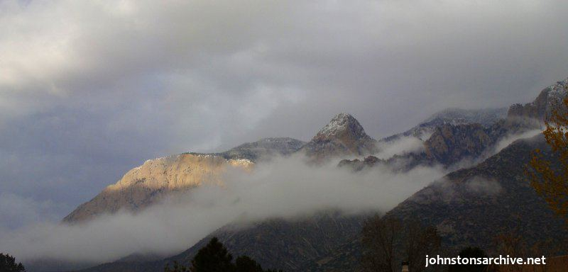 New Mexico: Sandia Mountains in winter, part 2